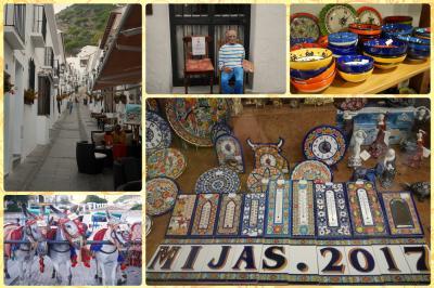【1】モロッカンスタイルに憧れて、ざくっとモロッコ(*´∀`*)まずは情熱のスペイン 白い街ミハスへ。