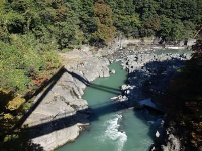 高津戸峡へ