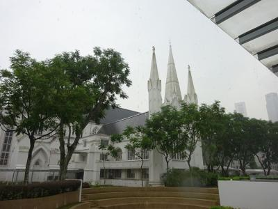 雨降りシンガポール 1 ブギス、ナイトサファリ