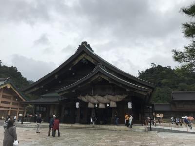 鳥取・島根3日間(松江・出雲編)