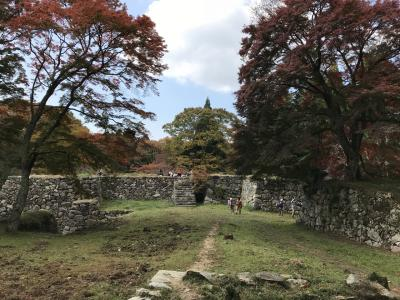 紅葉の時期:高取城跡ハイキング