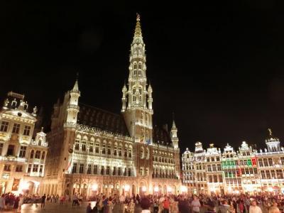 【現地駐在員の夏休み】ベネルクス3国(オランダ、ベルギー、ルクセンブルク)を巡る旅(5日目:ベルギー・ブリュッセル)