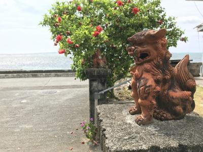 1歳6ヶ月児と行く沖縄~古宇利島、美ら海~