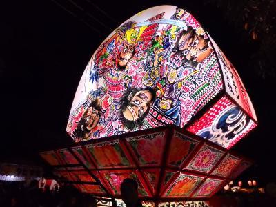 関東でも楽しめる 幻想的な☆ねぷた祭☆ 北本まつり「宵まつり」