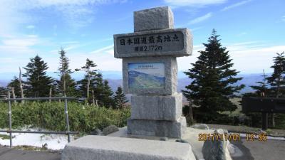 志賀高原ルートは初冬