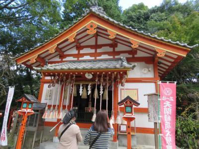 久しぶりの福岡への旅⑥太宰府へ・・・御本殿〜天開稲荷社迄