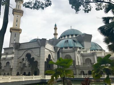 マレーシアでモスク三昧2!4日目(クアラルンプール)