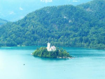 クロアチア・スロベニアを廻る夫婦旅15日間 【11】 ブレッド湖に小旅行し、リブリャーナ市街を散歩