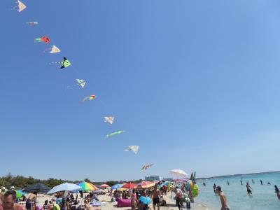 プーリア州優雅な夏バカンス♪ Vol360(第18日) ☆Gallipoli:ガッリーポリ高級リド「サムザーラ」優雅なビーチバカンス♪♪ビーチの外れまで優雅に歩く♪