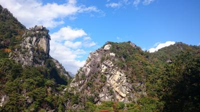 紅葉の昇仙峡に行きたくて。