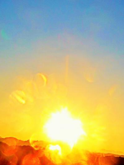 夜明け/朝日 紀州南部ロイヤルホテル 458号室の眺望 ☆熊野古道ハイキングの前に