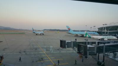 KE705便とKE720便 搭乗記