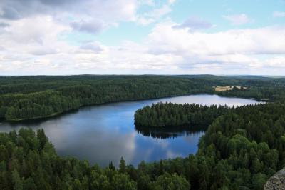 キートス♪ ハメーンリンナの古い塔(Aulangon näkötorni)&ドライブ 2017フィンランド6