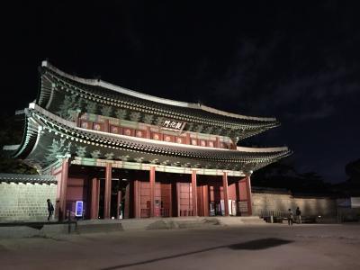 2017年秋のソウル月明かり紀行6人旅①  1日目前半