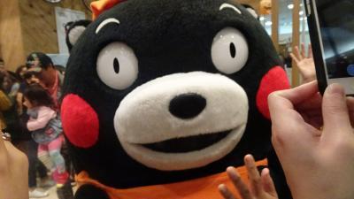 九州の旅(48) くまモンスクエアで「くまモン」に会う 動画も撮影できるデジカメ 上巻。