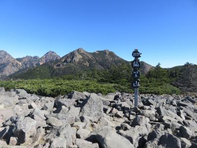八ヶ岳 編笠山 2017年11月