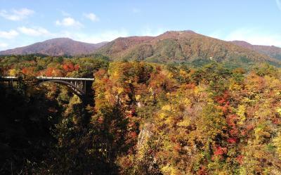 【紅葉】鳴子峡と奥の細道湯けむりライン