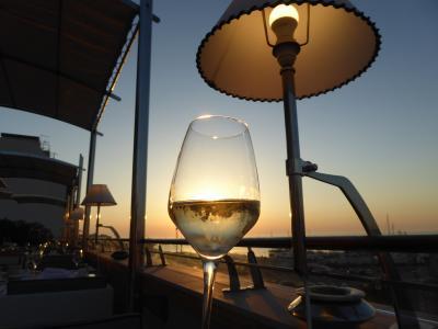 プーリア州優雅な夏バカンス♪ Vol365(第18日) ☆Gallipoli:ガッリーポリ高級ホテル「Palazzo del Corso」優雅なディナー♪美しき黄昏風景♪