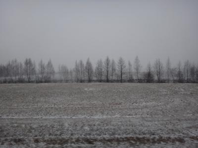 はじめてのバルト三国2017-<8>ヴィリニュスからリーガへ・国際バスは雪の国境を越えて
