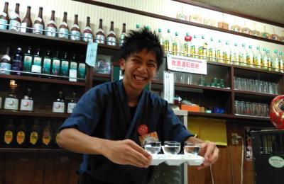 秋田の繁華街★川反通りで郷土料理