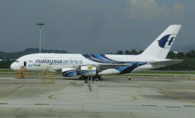 マレーシア航空エアバスA330とA380のビジネスクラスでロンドンへ < 錦秋のロンドン3泊7日の旅2017 1日目 >