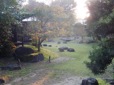 久しぶりの福岡への旅⑪ホテルパーレンス小野屋の庭園露天風呂付近の風景