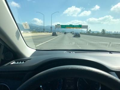 おばちゃんハワイふらっと一人旅_空港からレンタカー返却まで&シェラトンワイキキ駐車場編