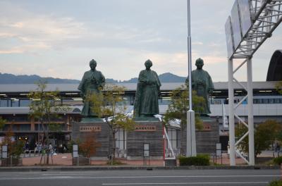 徳島から高知へ到着