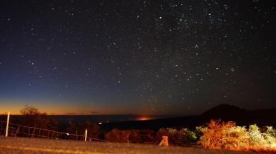 2017年10月 ハワイ島旅行②♪マウナケア山頂日の出&世界遺産キラウエア火山と星空観測ツアー♪