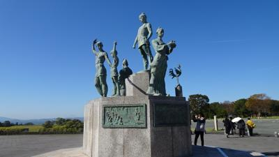 九州の旅(59) 鞠智城跡公園の観光。