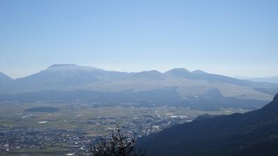 九州の旅(60) 大観峰からの景観。