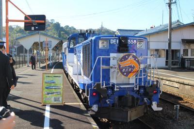 奥出雲おろち号と普通列車で出雲市から三次まで。秋の風情を楽しむ鉄旅、プラス郵便局。
