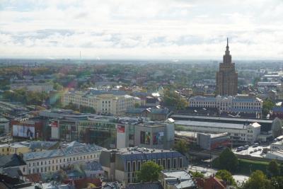 バルト三国*北欧 女一人旅⑤ ~奇跡!リガの大聖堂展望台から虹を。ちょこっとタリン~