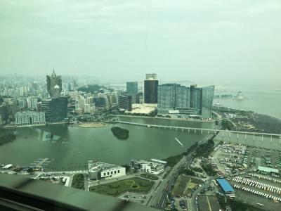 香港マカオ3泊4日・3日目 マカオへGO、タワーと料理と世界遺産と