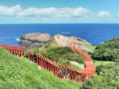 """たまには「ベタ」な観光旅行1709  「今や山口県を代表する観光地になりました。  """"元乃隅稲荷神社&角島大橋""""」  ~下関・山口~"""