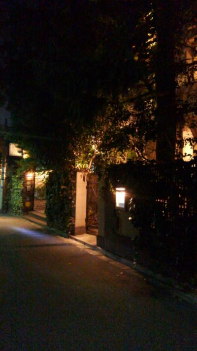 外苑の銀杏散歩とオテルドミクニで晩御飯♪