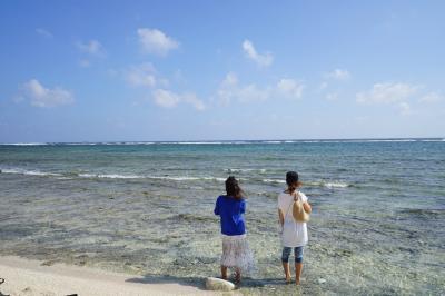 11月のあったか沖縄へ友人を訪ねに行きました★南部ウミカジテラス、美ゅらSUNビーチ、糸満 読谷グルメ、残波岬へ。