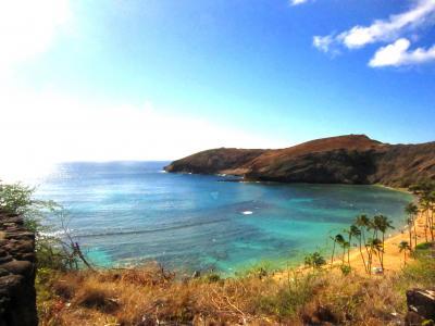 4泊6日初ハワイ旅行③ハナウマ湾、ダイヤモンドヘッド、KCCマーケット編
