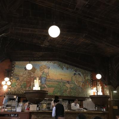 現存する日本最古のビヤホール ライオン(銀座七丁目店)