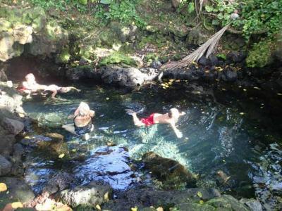 2度目のハワイ。ハワイ島の温泉パワースポット