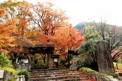 丹波紅葉三山 高源寺、円通寺、石龕寺を巡ってきました。その1