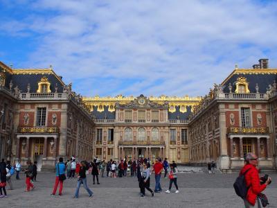憧れのヨーロッパ!夏のパリへ【4日目前編:ヴェルサイユ宮殿半日観光ツアー参加】