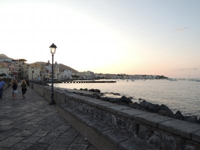 イスキア島の街歩き