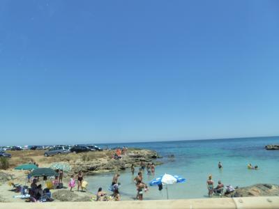 プーリア州優雅な夏バカンス♪ Vol373(第19日) ☆Brindisi→Savelletri:美しきアドリア海岸を眺めながら走る♪