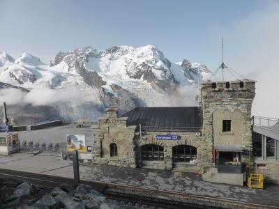 スイス 車窓から、そして目の前で眺める絵葉書のような風景-8(ツェルマット→チューリッヒ)