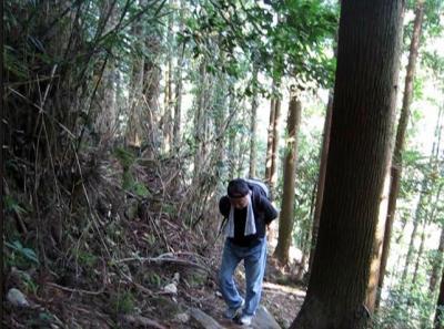 熊野古道中辺路大日越え 復路 熊野本宮⇒湯の峰温泉