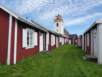 北スエーデンからサンタクロース村を通りラップランドをドライブ旅行