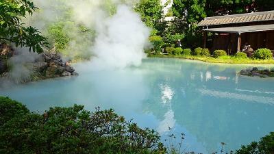 九州の旅(77) 別府温泉地獄めぐり 5.白池地獄