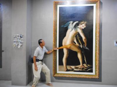 3次元アートで遊ぶジジイ in Manila./石田えりに対抗してドラゴン60代最後の写真集/ヘアヌードは無いよ!