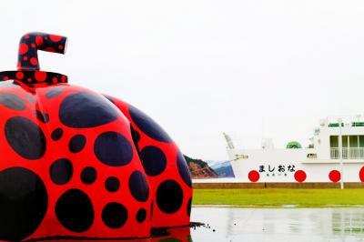 香川・岡山ひとりアート巡りの旅。(1日目 直島上陸)